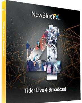 NewBlue Titler Live 4 Broadcast