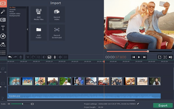 Movavi Video Editor 15 free download