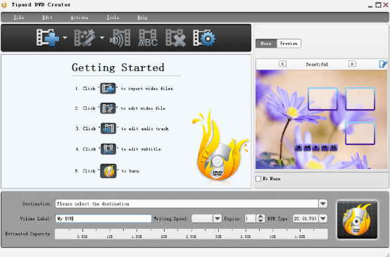 Tipard DVD Creator 5 free download
