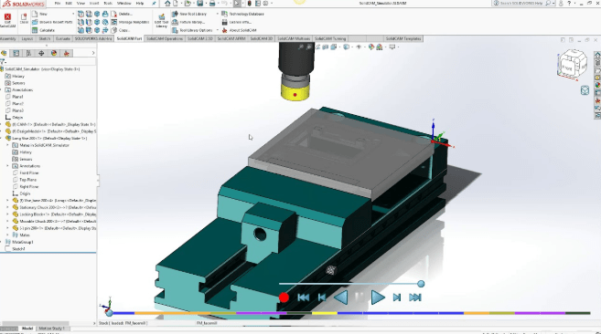 SolidCAM 2020 free download