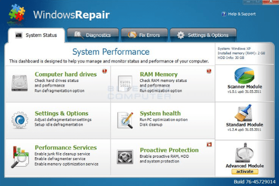 Windows Repair Pro 2018 crack download