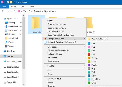 Folder Changer 4 free download