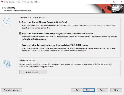O&O DiskRecovery Professional Edition 14 crack