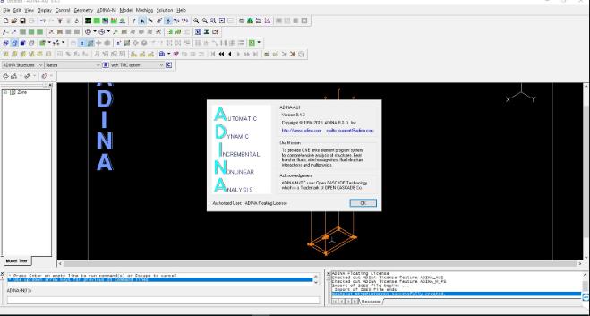 ADINA System 9 free download