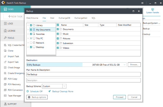 EaseUS Todo Backup Advanced Server 12 free download