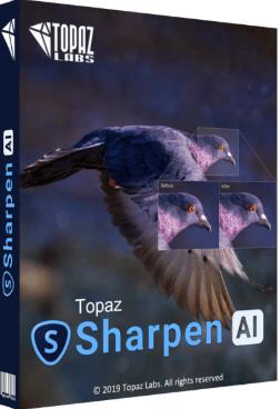 Topaz Sharpen AI free download