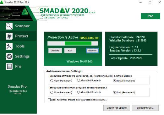 Smadav Antivirus Pro 2020