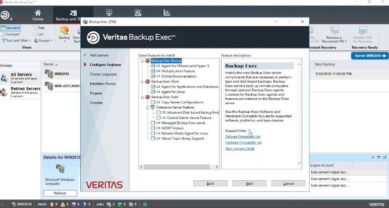 Veritas Backup Exec 20 crack