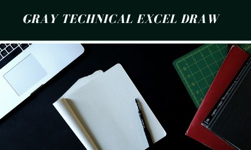Gray Technical Excel Draw 3
