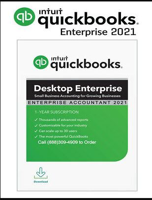 QuickBooks Enterprise Accountant 2021