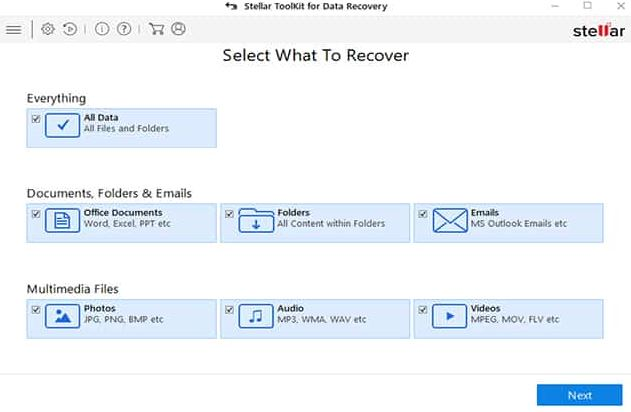 Stellar Toolkit for Data Recovery 9 free download