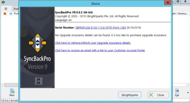 2BrightSparks SyncBackPro 9 free download