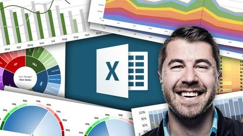 Udemy - Microsoft Excel - Data Visualization، Excel Charts & Graphs