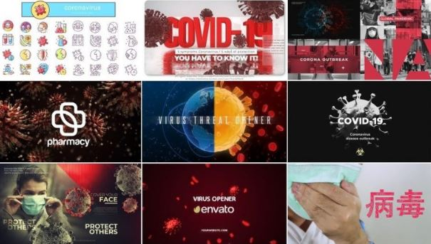 9 Projects from VideoHive for After Effects