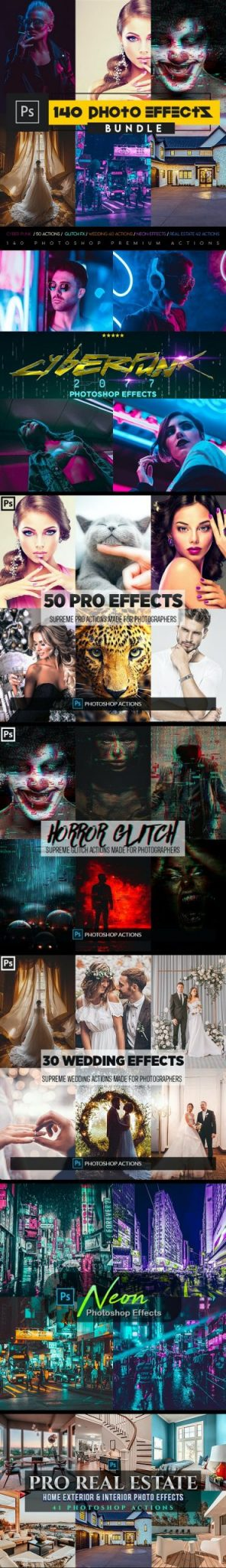 GraphicRiver – SupremeTones Photo Effects Actions BUDNLE 27070454 Free Download