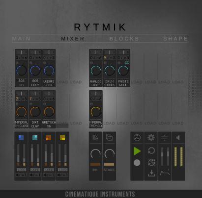 Cinematique Instruments Rytmik KONTAKT