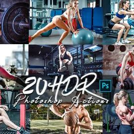 GraphicRiver – HDR V2 Photoshop Actions 26938357 Free download