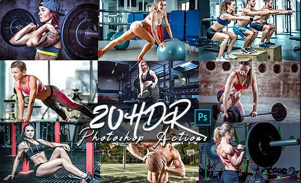 GraphicRiver – HDR V2 Photoshop Actions