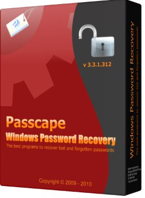 Passcape Windows Password Recovery Advanced 13