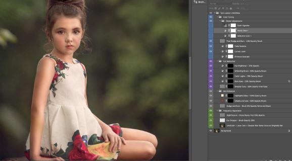 Tara Lesher Photography The Ultimate Photoshop Workflow Photoshop Actions
