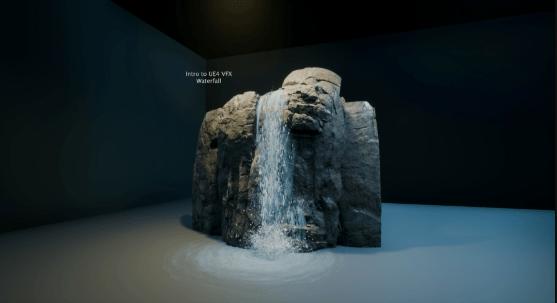 Artstation Intro to UE4 VFX Waterfall