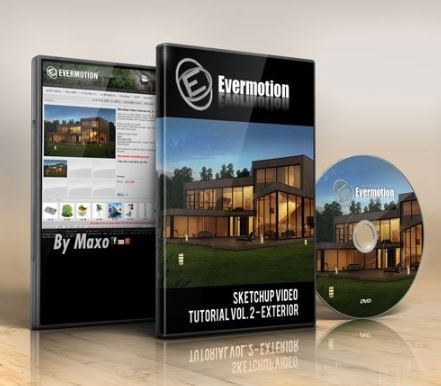 Evermotion Sketchup Video Tutorial vol. 2 Exterior Free Download