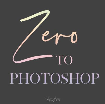 Meg Bitton live ZERO TO PHOTOSHOP