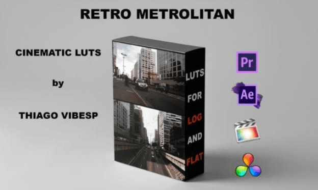 Thiago Vibesp – Retro Metrolitan Cinematic LUTs