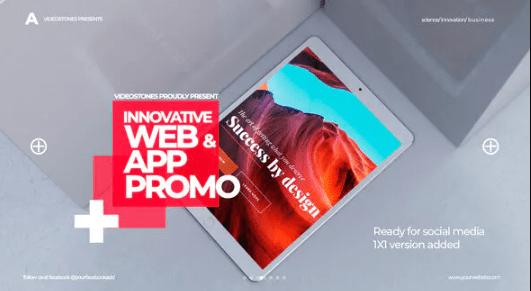Videohive Innovative App & Web Promo