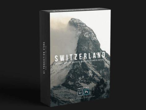 CreativeMarket – SWITZERLAND INSPIRED PRESETS 4719474