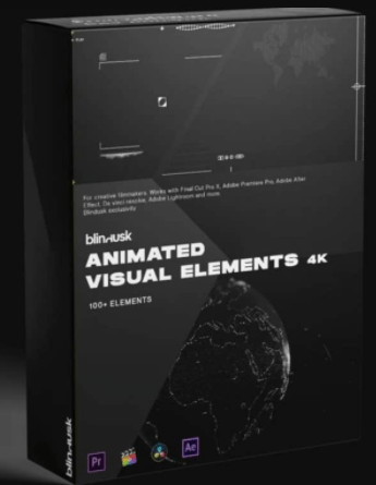 Blindusk Animated Visual Elements Free Download