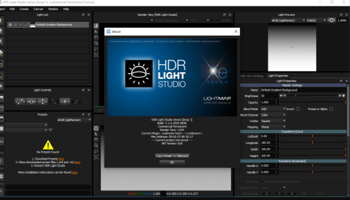 Lightmap HDR Light Studio Xenon 7