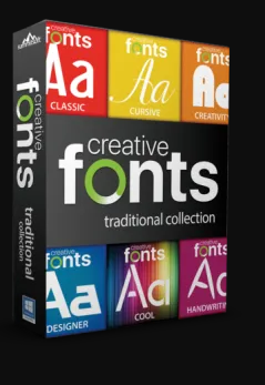 Summitsoft Creative Fonts Collection 2020