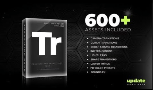 Videohive 600+ Pack Transitions Light Leaks Color Presets Sound FX