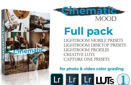 WeLovePresets Cinematic Mood Full Pack