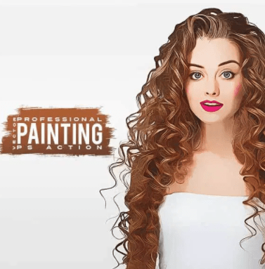 GraphicRiver – Pro Vector Painting – Photoshop Action 28835214