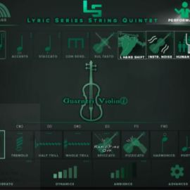 Kirk Hunter Studios Lyric Series String Quintet KONTAKT