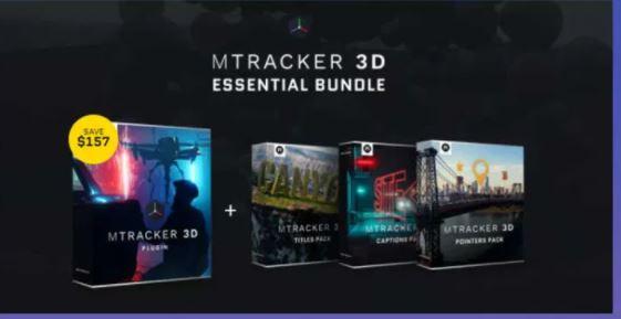 MotionVFX – mTracker 3D ESSENTIAL BUNDLE