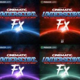 Producer Loops Cinematic Underscore Fx Volume 1-4