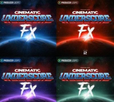 Producer Loops Cinematic Underscore Fx Volume 1-4