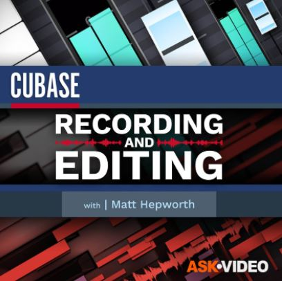 Ask Video Cubase 11 102: Recording and Editing by Matthew Loel T. Hepworth