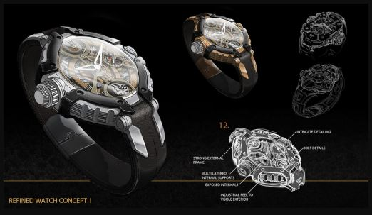 Product Design Pipeline Concepting a Watch in Photoshop By Adam Fairless
