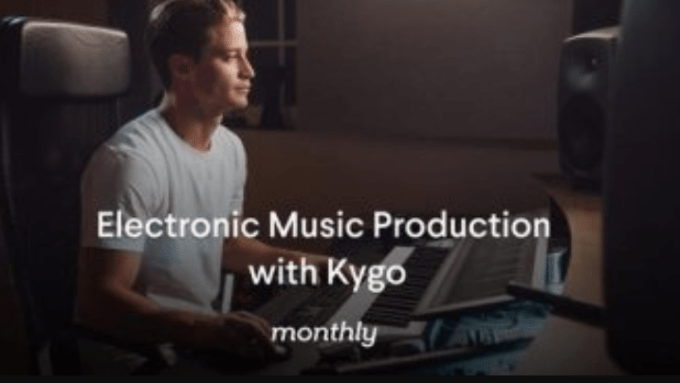 Monthly Electronic Music Production with Kygo