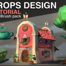 Props Design – Tutorial + Brush Pack by Florian Coudray
