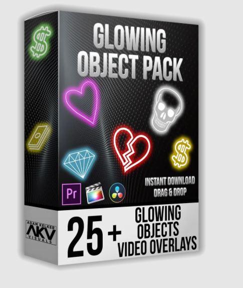 Akvstudios – Object Glow Pack Free