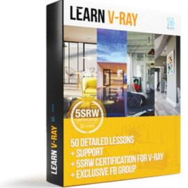 Learn V-ray – 5-Step Render Workflow (5SRW) Complete Free Download (premium)