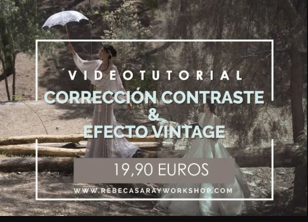 Rebeca Saray – Vintage Effect and Contrast Work
