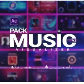 Videohive Music Visualizer Pack V2 26261391