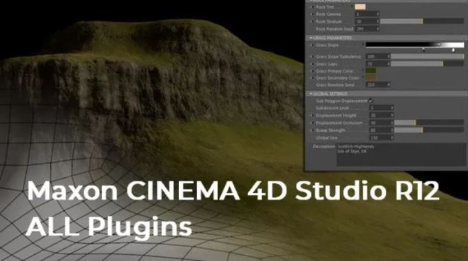 Maxon CINEMA 4D Studio R12 ALL Plugins