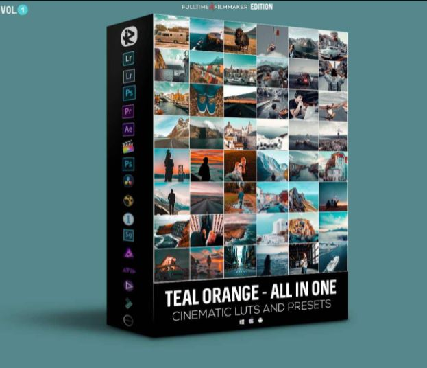 Riyazmn Teal And Orange Standard Pack Free Download